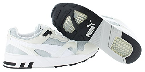Puma Uomo Trinomic Xt2 Plus Tech Classic Sneaker Puma Argento-bianco