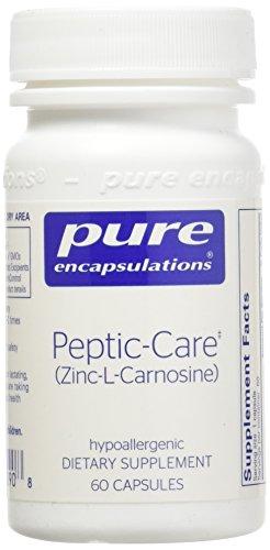 Pure Encapsulations Peptic Care Zinc L Carnosine Hypoallergenic