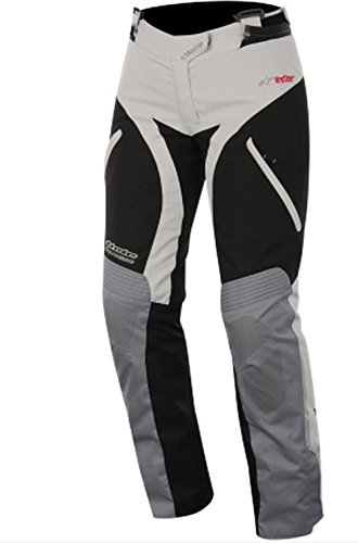 Alpinestars Andes Women's Sports Bike Motorcycle Pants - Gray/Black / Size Large