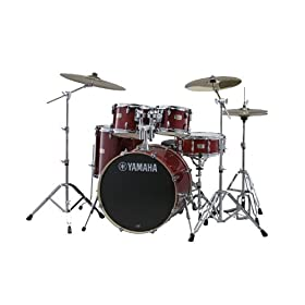 "Yamaha Stage Custom Birch 5-Piece Shell Pack - 20"" Kick, Natural 4"
