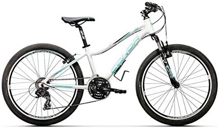 Conor 340 21S Bicicleta Ciclismo Mujer, Blanco/Azul (Multicolor ...