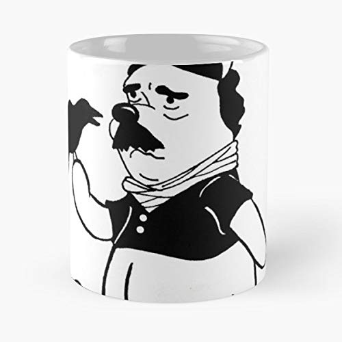 Poe Edgar Allan Pooh Teddy Bear - Coffee Mugs Best Gift For Father Day