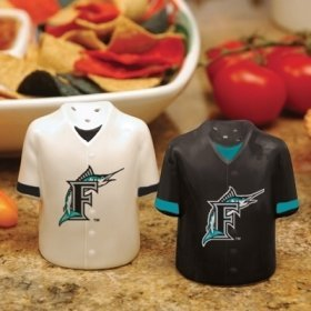 - Florida Marlins Gameday Jersey Salt and Pepper Shakers