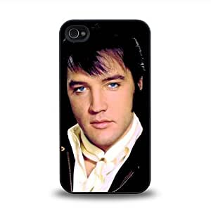 iPhone 4 4S case protective skin cover with rock singer star Elvis Presley cool design #16