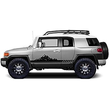 Fj Cruiser Sticker >> Amazon Com Factory Crafts Toyota Fj Cruiser 2007 2014 Mountain Side