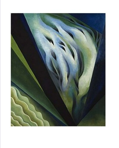 Gerogia O'Keeffe Journal, Blue-Green Music 1921 (Georgia O Keeffe Blue And Green Music)