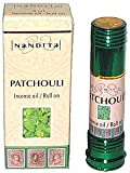 Patchouli – Nandita Incense Oil/Roll On – 1/4 Ounce Bottle, Health Care Stuffs