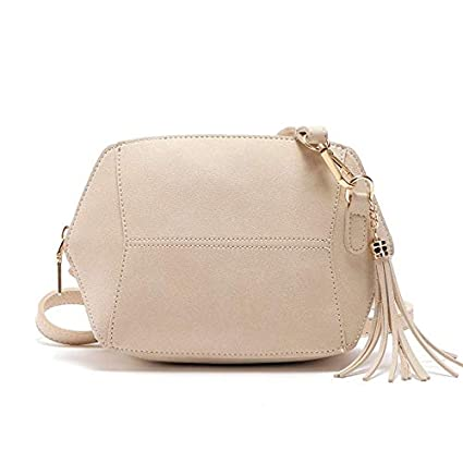 Image Unavailable. Image not available for. Color  Fringe Crossbody Bag  Women Suede Clutch Girl Fashion Messenger Shoulder Handbags Ladies Beach  Holiday ... 1c1039cdfcac0