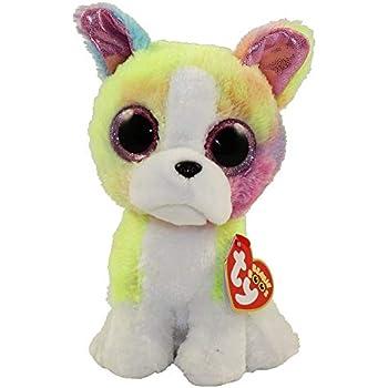 0e192389ab0 Amazon.com  Ty Beanie Boos Isla - Rainbow Dog (Claire s Exclusive ...