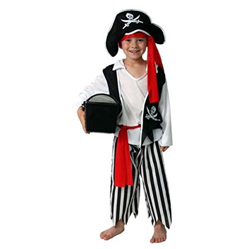 Plundering Pirate Dressup Halloween Play Costume Size (Plundering Pirate Costume)
