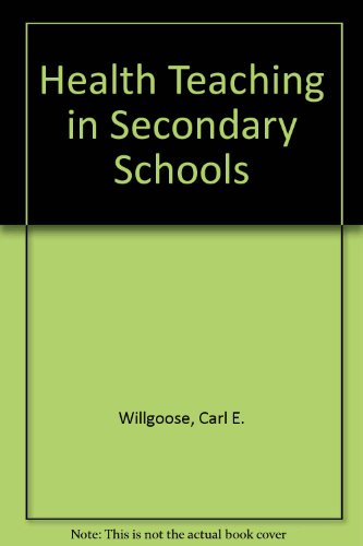 health teaching in secondary schools 感想 carl e willgoose 読書