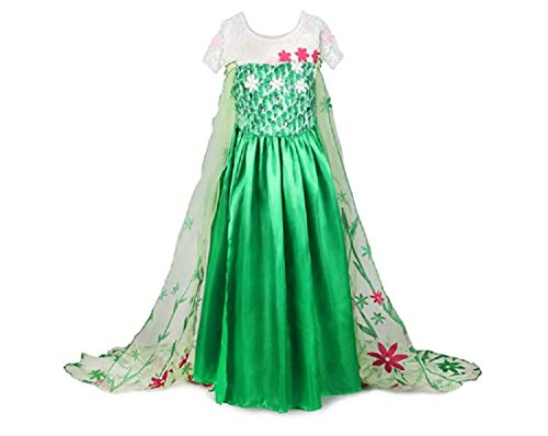 KuaileBaby Anna Elsa Frozen Fever Girl's Birthday Dress