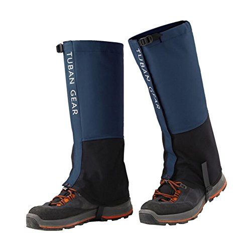 Eagsouni® Hiking Gaiters Snow Gaiters Waterproof Boot Shoes High Leg Cover Reinforced TPU Strap Breathable 500D Nylon