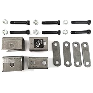 Single Axle Hanger Kit for Double Eye Spring