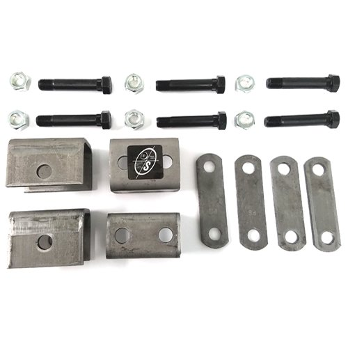 - Southwest Wheel Single Trailer Axle Hanger Kit for Double Eye Spring