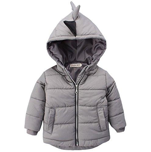Winter Snowsuit Outerwear Dinosaur Hooded