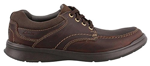 Clarks Men's Cotrell Edge Oxford, Brown Oily Leather, 7.5 M US