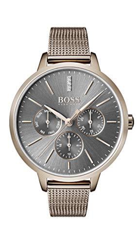 Hugo BOSS Reloj Multiesfera para Mujer de Cuarzo con Correa en Acero Inoxidable 1502424