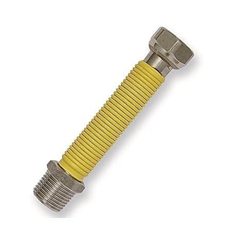 acquastilla 116892 Acero Inoxidable con uni11353 amarilla embrague para gas: Amazon.es: Bricolaje y herramientas