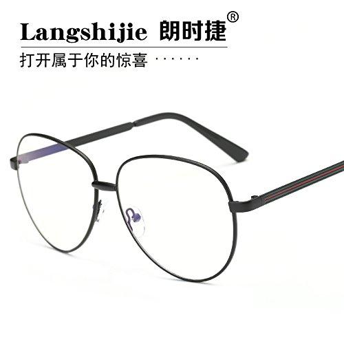 radiación de azules KOMNY a prueba excesivo equipo espejo de gafas Gafas gafas teléfono y color bronce plano móvil número ojo anti Black de 8SSpInTq