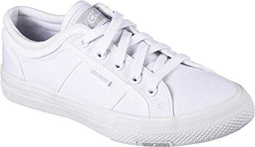 Sneaker Get Utopia Skechers Low White Women's 8qgwCz