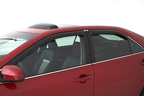4-Piece Set for 2017-2019 GMC Acadia Auto Ventshade 194263 In-Channel Ventvisor Side Window Deflector
