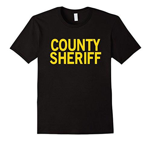 Mens SHERIFF Shirt Uniform for Law Enforcement - Corrections XL Black