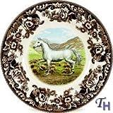 Spode Woodland Horses Dinner Plate(s) Arabian