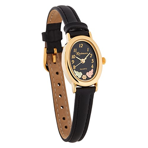 Oval Black Face Watch - 7