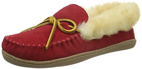 Minnetonka Womens Alpine Sheepskin Moc