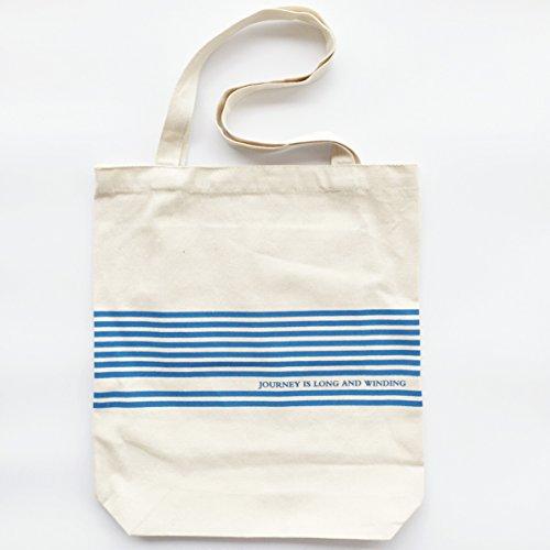 Sac toile multifonction coton toile tissu Sac/Sac à main/sac bandoulière/sac/Messenger Sac/Sac de shopping/Sac écologique avec fermeture Éclair avec poche