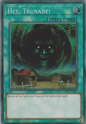 Hey EXFO-EN062 Secret Rare  YuGiOh NM Trunade
