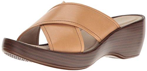 Eastland Women's Candice Heeled Sandal, Wheat, 8 M - Shops Eastlands
