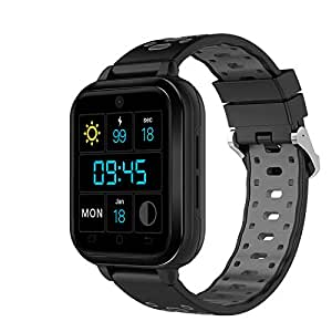 Finow Q1 Pro Android Smart Watch 4G 1.54 Inch Touch Screen Pedometer Grey