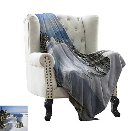 Blanket Sheets Pacific Ocean Meets The Mountains Vancouver British Columbia Canada All Season for Couch or Bed 60