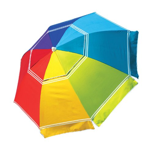 Nautica Beach Umbrella Rainbow Color