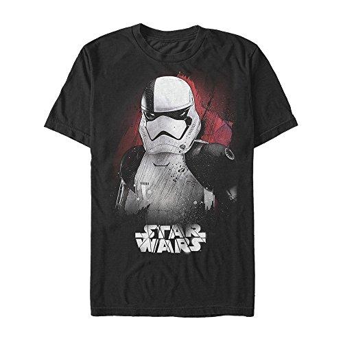 - Star Wars Men's Overload Trooper Logo Tee, Black, 3X-Large