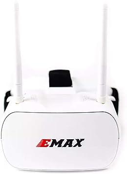 Opinión sobre FairOnly Emax Tinyhawk 5.8G 48CH Diversity FPV Goggles 4.3 Pulgadas 480 * 320 Video Headset con Antenas duales 4.2V 1800mAh Batería para RC Drone Juguetes