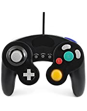 QUMOX Black Wired Classic Controller Joypad Gamepad for Nd Gamecube gc & wii (Turbo Slow Feature)