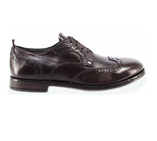Herren Schuhe MOMA 68703-AB Appalosa TMoro Business Derby Brogue Vintage ITA Neu