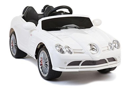 Exclusive-Ride-on-Car-Mercedes-Benz-McLaren-722-Series-ToyCar-for-Kids-Boys-and-Girls-with-Music-Lights-Remote-Control-White