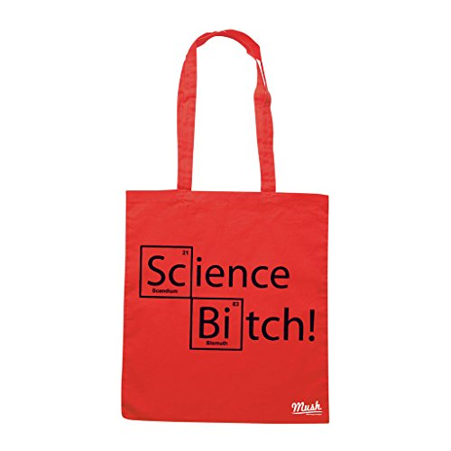 Borsa SCIENCE BREAKING BAD CIT - Rossa - FILM by Mush Dress Your Style