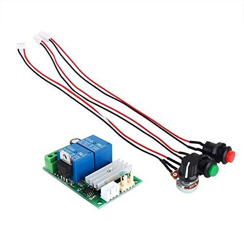 Yuehuam Motor Pump Speed Controllerm PWM Regulator Reversing Switch DC6V 9V 12V 24V 3A ()