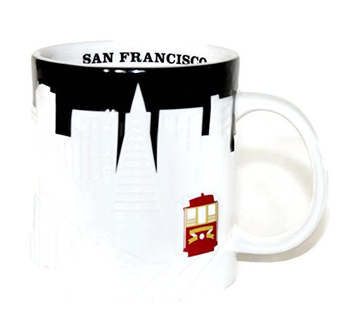 Starbucks Coffee Company Collector Series San Francisco - Skyline Large Mug