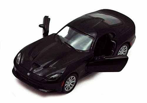 2013 Dodge SRT Viper GTS, Black - Kinsmart 5363D - 1/36 Scale Diecast Model Toy Car, but NO Box