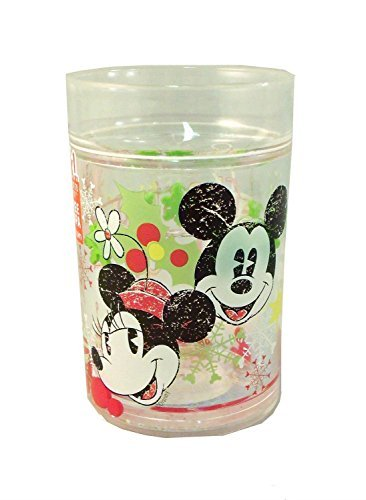 Zak Disney Mickey and Minnie Mouse Christmas Magic Snowglobe Tumbler ()