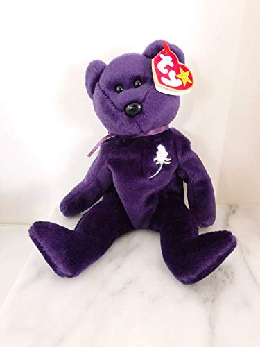 - Rare -Princess Diana Ty Beanie Baby Mint Retired #472 PE Pellets 2nd Generation