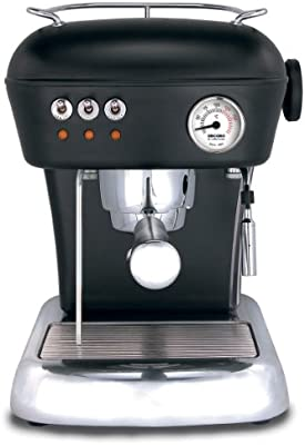 Ascaso Dream Cafetera expreso en Dark Black - neuauflage: Amazon ...