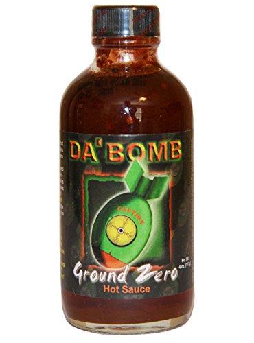 DA' Bomb Hot Sauce 4oz Glass Bottle (Pack of 3) Select Flavor Below (Beyond (Da Bomb Hot Sauce)