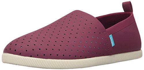 Native Men's Venice Slip Fashion Sneaker, Root Red/Bone White, 10 M US
